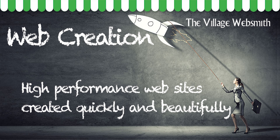 Web Site Design & Creation: Web sites built quickly, efficiently and beautifully.  Using Webinthebox®, your high-performance site can be published in just days.  Engineered for built in SEO, your message will get found, make its mark and generate a response.